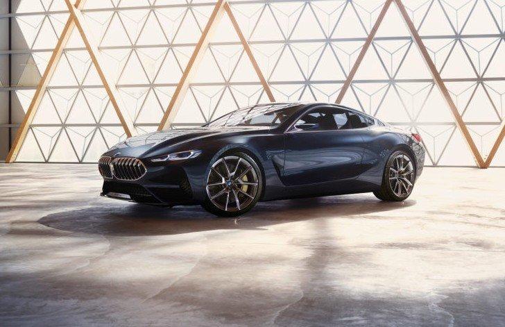 BMW 8 Series Concept - фото 11