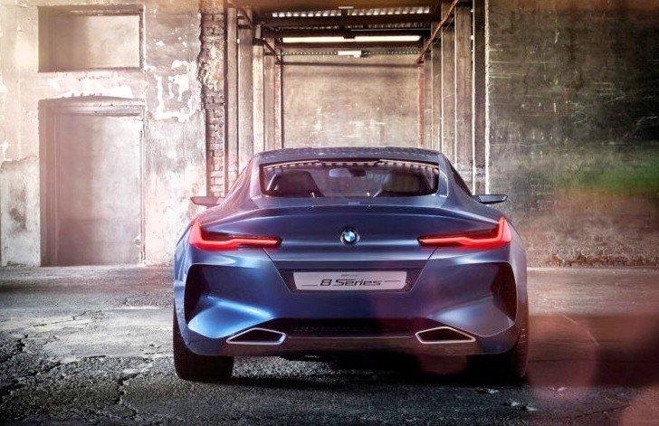 BMW 8 Series Concept - фото 4