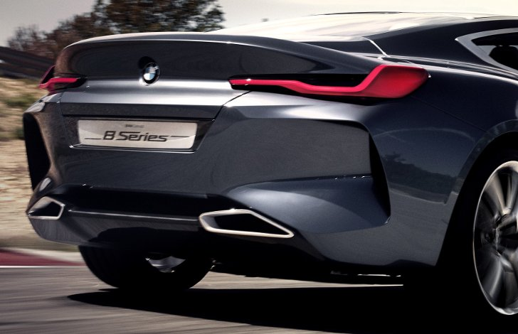 BMW 8 Series Concept - photo