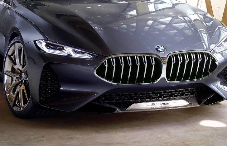 BMW 8 Series Concept - вид спереди