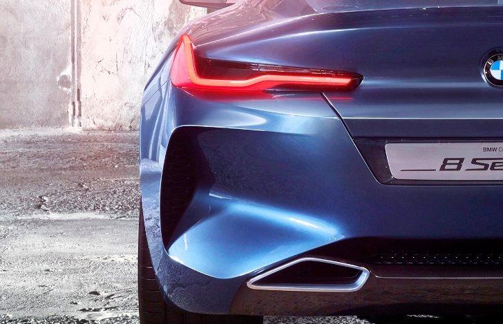 BMW 8 Series Concept - вид сзади