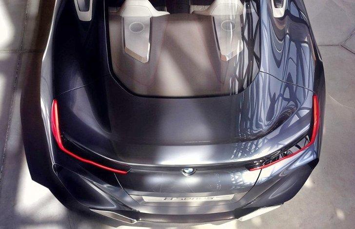 Задняя часть BMW 8 Series Concept