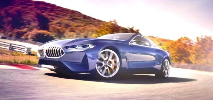 Concept Car BMW 8 Series 2017