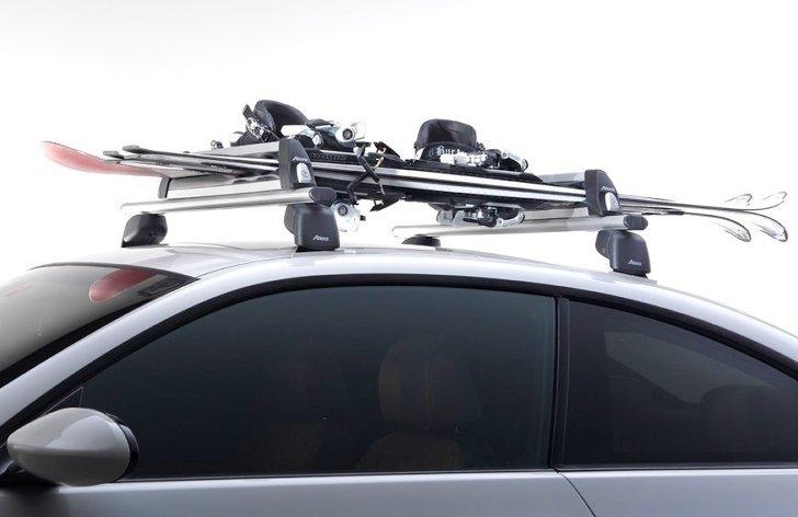 Крепление Extender с лыжами и сноубордом