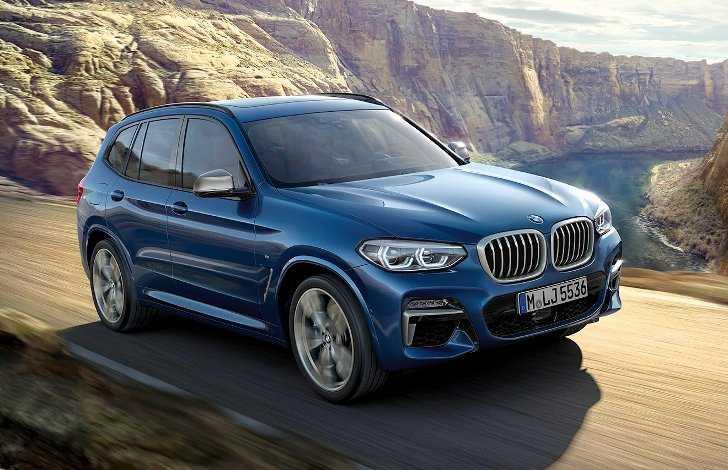 Обои BMW X3 G01 - 1