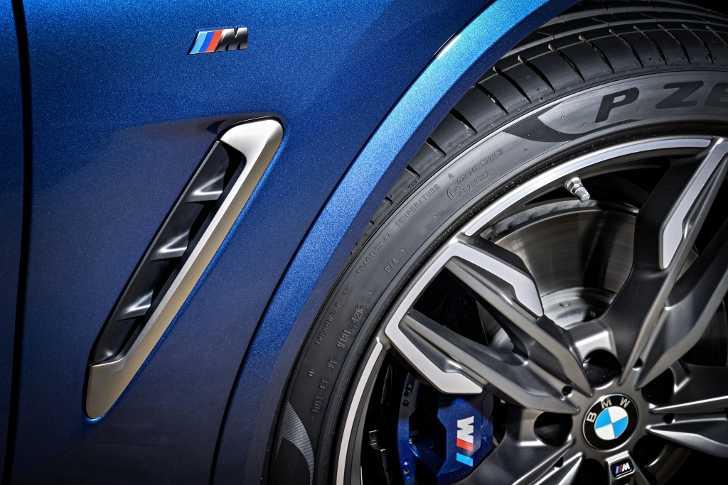 Жабра BMW X3 M40i G01