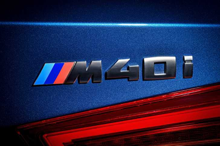 Шильдик BMW X3 M40i G01