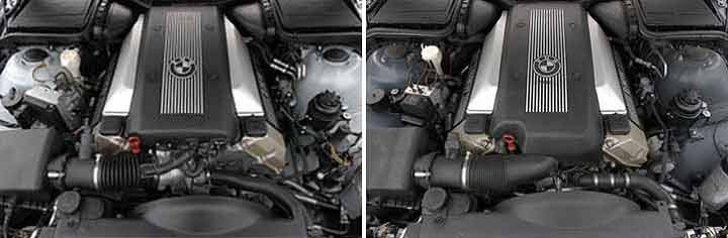 BMW M62 vs M62TU - сравнение