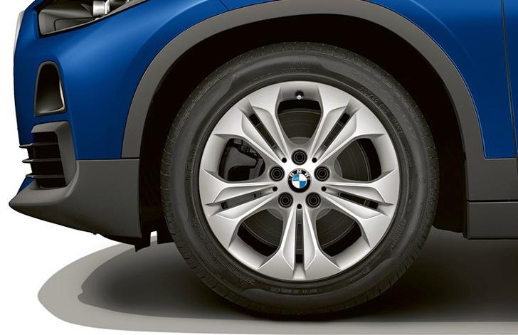BMW X2 F39 - базовая версия - вид сбоку