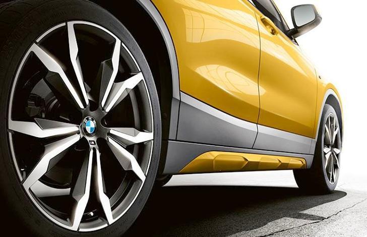 Боковые юбки BMW X2 F39