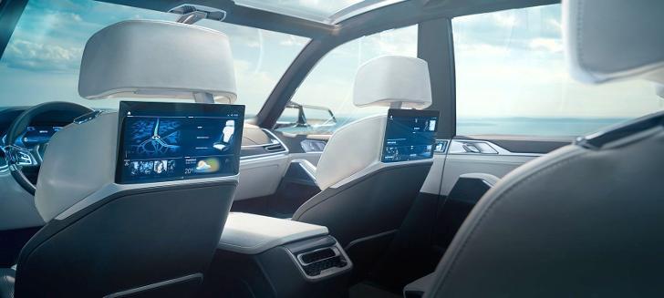 Интерьер BMW X7 Concept G07