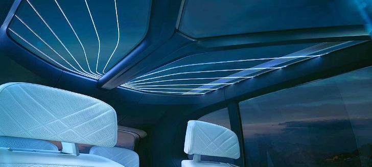 Панорамная крыша BMW X7 Concept G07