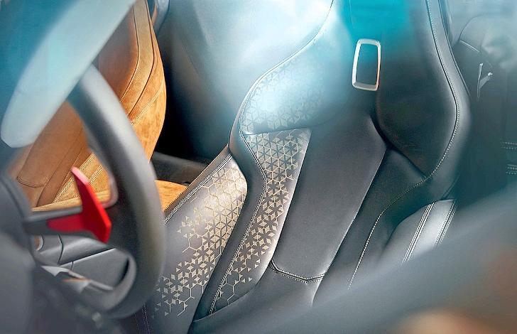 BMW Z4 G29 - сидение