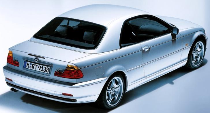 """""""Жесткая"""" крыша для BMW E46"""
