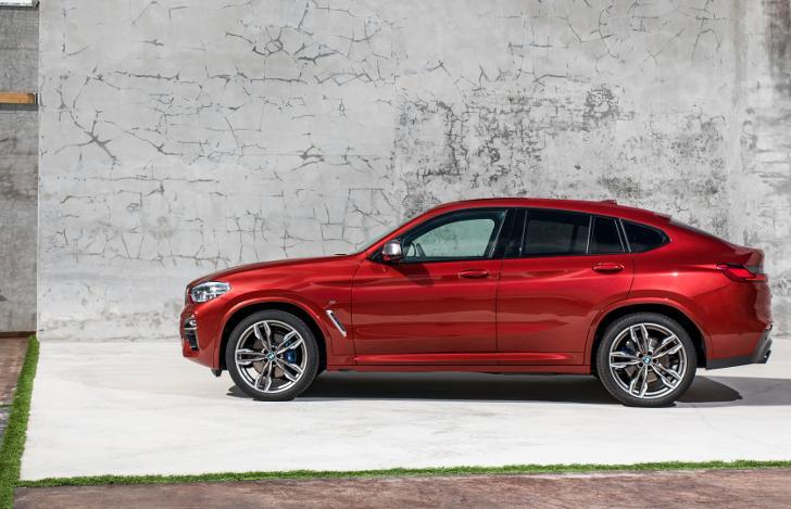 BMW X4 G02 2019 модельного года