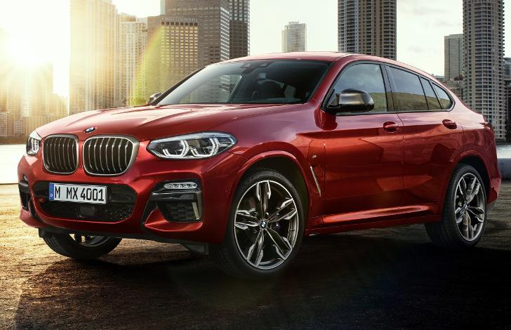 Фото BMW X4 G02 2019 модельного года