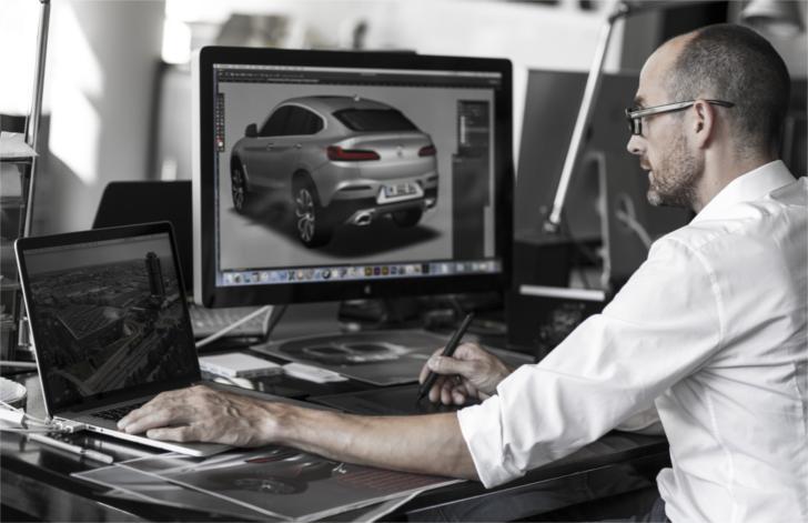 Создание дизайна BMW X4 G02
