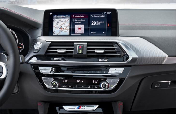 Центральная консоль BMW X4 G02