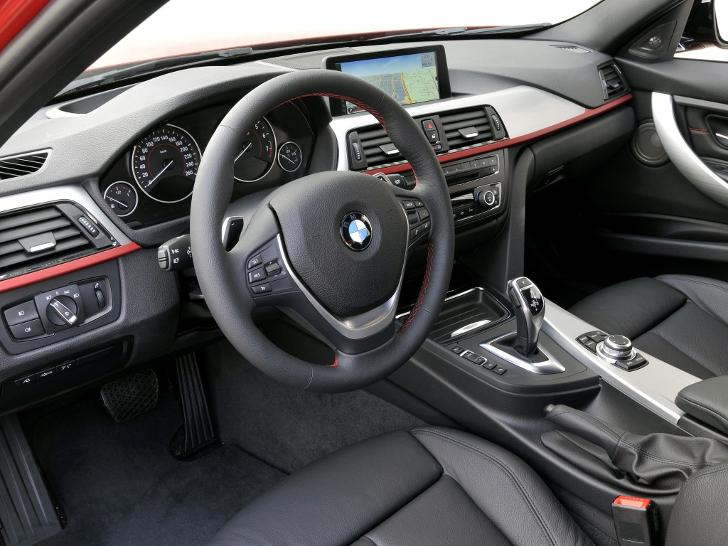 Interior BMW F30 3 Series - overview