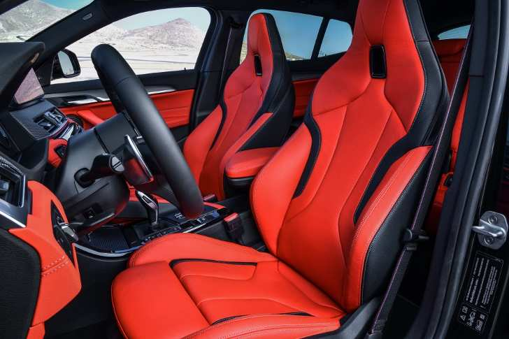 Interior BMW X2 M35i - Review Interior