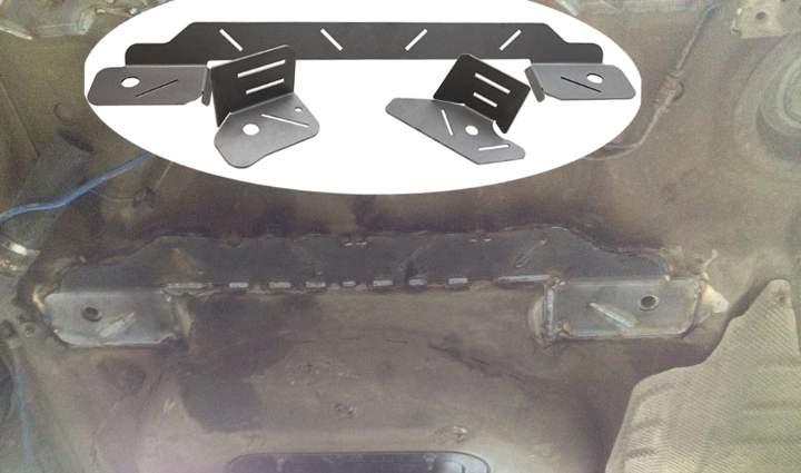 Укрепление заднего шасси в БМВ Е46