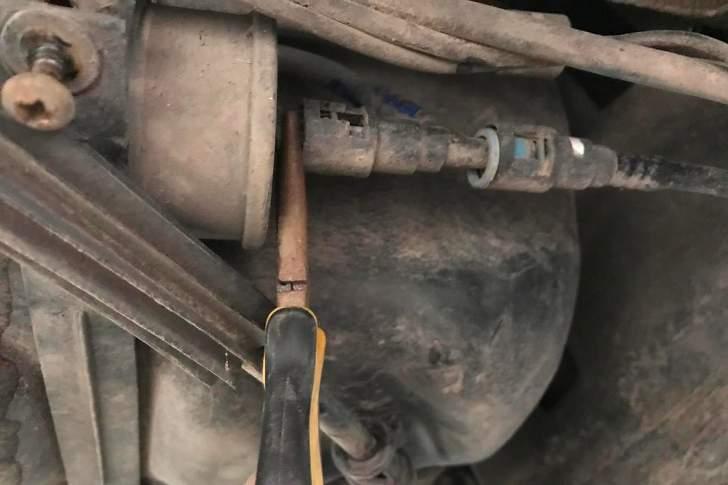 Замена топливного фильтра - 3