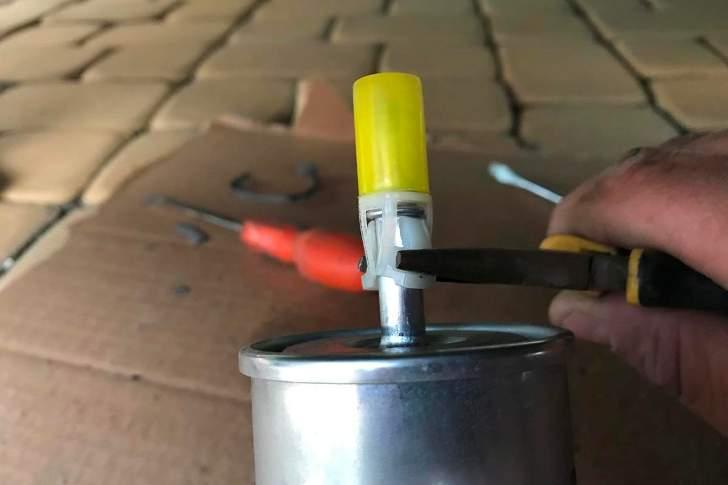 Замена топливного фильтра - 6